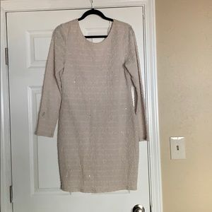 Jennifer López Sweater Dress (Size L)